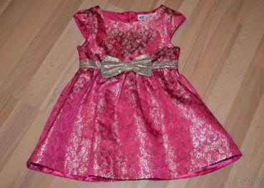 Slávnostné šaty H&M v.98