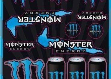 Nálepky Monster Energy 6
