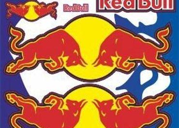 Nálepky moto RedBull
