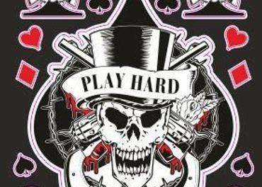 Nálepky moto Play Hard