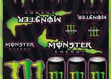 Nálepky Monster Energy 1