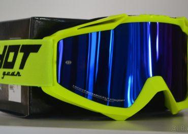 Predám okuliare shot žlté zrkadlové sklo modré