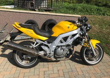 Rozpredám Suzuki SV 650 35kW 2004