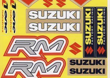 Nálepky moto Suzuki 1