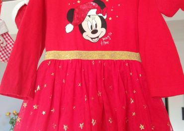 Vianocne saty Disney 80