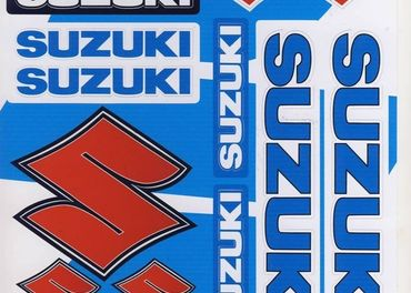 Nálepky moto Suzuki 3