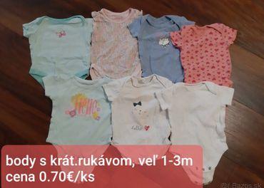 Dievčenské oblečenie do 6m