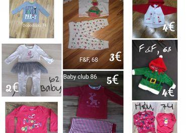 Vianočné oblečenie 62, 68, 74, 86