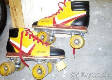 Kolieskové retro korčule , brusle , Quard  č.42