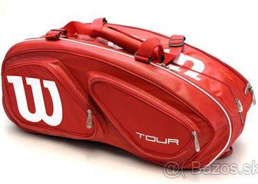 Nový špičkový tenisový vak Wilson Tour 15 (na 15 rakiet)