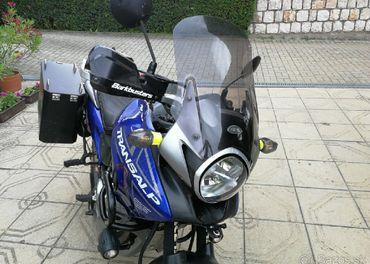 Turistické vyvýšené plexi Givi Honda xl 700 va transalp