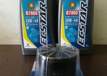 Suzuki Ecstar Motorcycle Oil 10W40 R7000 4L
