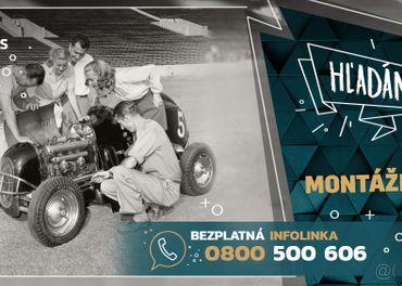 Práca pre živnostníkov so mzdou 8€/h. Nástup ihneď(operátor)