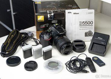 Nikon D5500 + 2 objektívy