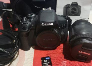 Canon eos 750D +príslušenstvo