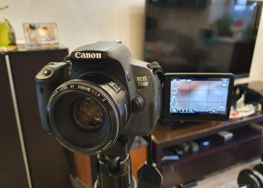 Canon 700D + 50mm f1.8 objektiv