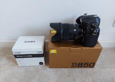 Nikon D850 + Sigma 35mm art