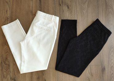 Elegantné kostýmové nohavice ZARA, veľ. 36