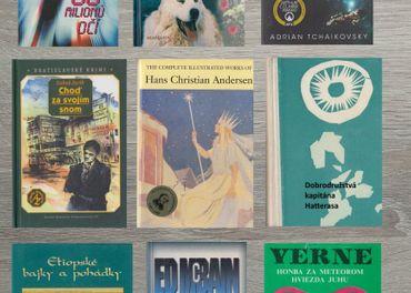 Detektívky, detské knihy, sci-fi a fantasy