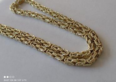 Zlatá retiazka 14 karátová, kráľovský vzor NOVÁ