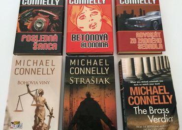 Knihy Michael Connelly v slovenčine alebo angličtine