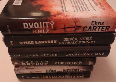 Predám detektínve knihy