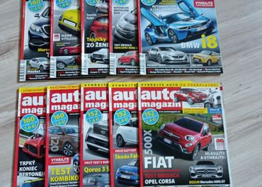 Časopis Auto magazín 2014