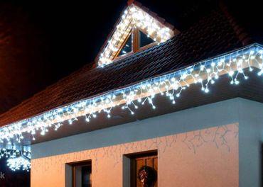 LED vianočné osvetlenie EXTERIER 500 LED- 20 m.