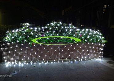 Vianočné Osvetlenie - LED SIEŤKA EXTERIÉR FS 160