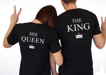 Trička KING & QUEEN - IHNED K ODBERU
