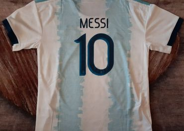 futbalový dres ARGENTINA MESSI 125-135cm