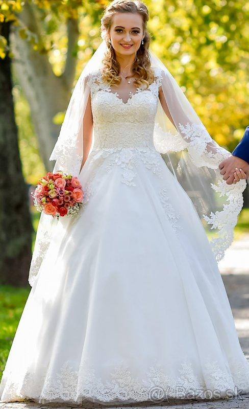 Rozprávkové svadobné šaty
