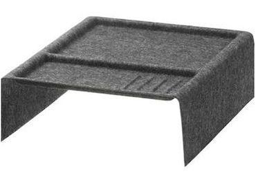 Predám Ikea Kallax priehradka sivá látková