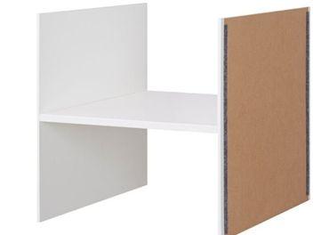 Predám Ikea Kallax priehradka biela - 6 kusov