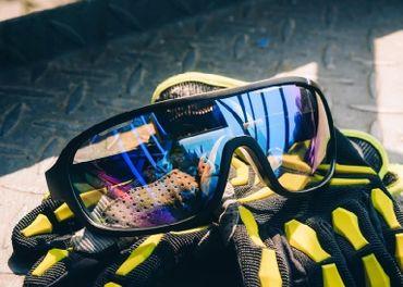 okuliare POC + 4 sklá (3 funkčné) + puzdro