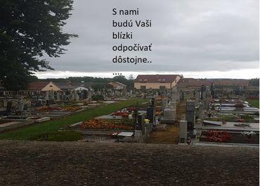 Starostlivosť  o hroby úprava čistenie hrobov