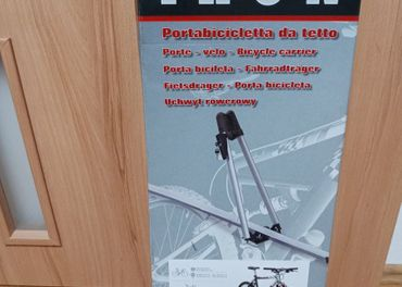 Nosič bicykla MENABO IRON - 2 krát