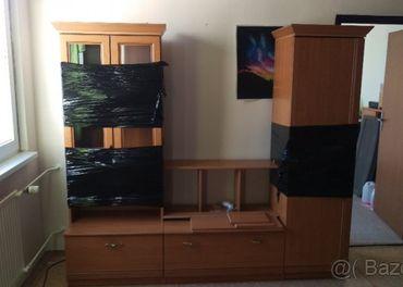 4-dielna obývacia stena