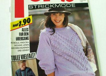 Retro modne časopisy / 1988-1989 -1990 /