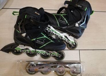 kolieskové korčule veľkosť 46