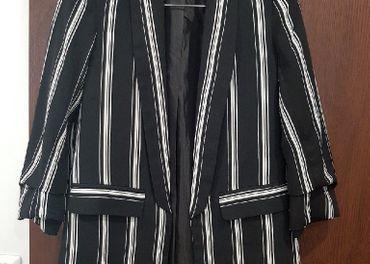 KIABI čierno biele sako vel.38