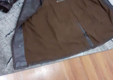 Predám starý pánsky kožený kabát (kožák je ťažký-3,2kg)