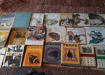 Balik knih dobrodružne romany detektivky a ine za 25 Eur