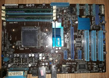 Asus M5A78L LE + 2x8 GB ddr3 ram + zdarma usb 3 pci
