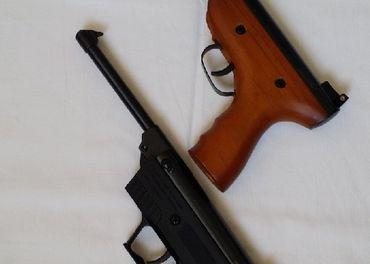 vzduchova pistol 4.5 nova