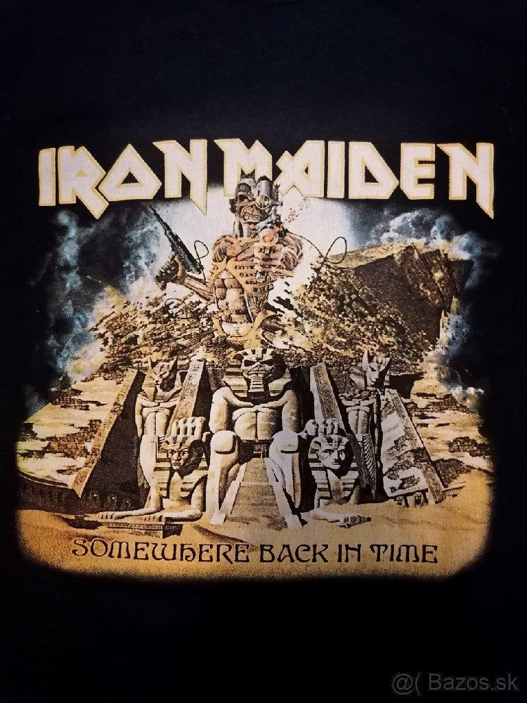 METALOVÉ TRIČKÁ - Tokio Hotel, Iron Maiden