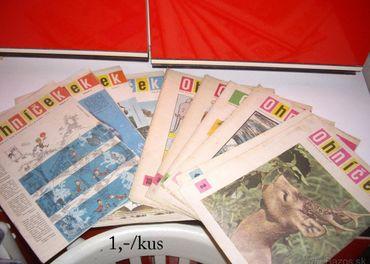 staré časopisy Ohníček