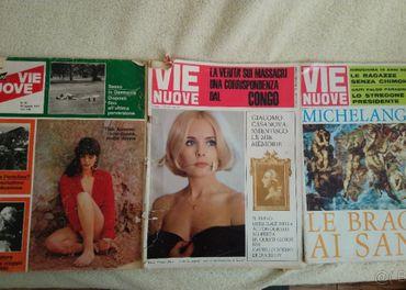 Predám staré časopisy Vie Nuove 1964, 1970