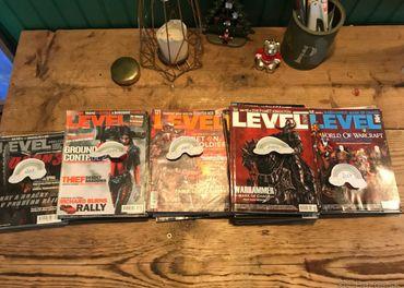 Predám staré čísla LEVEL časopis