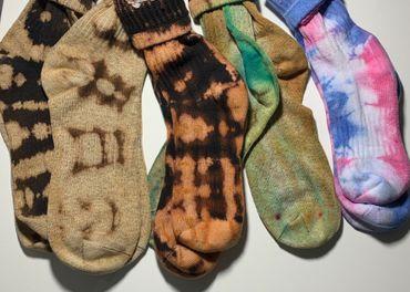 Nike ponožky tie dye